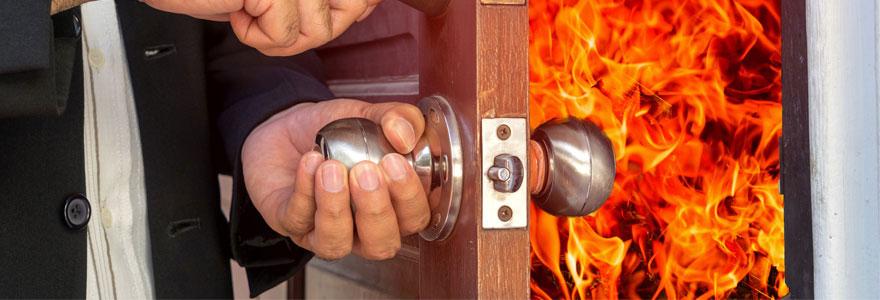 Portes coupe feu